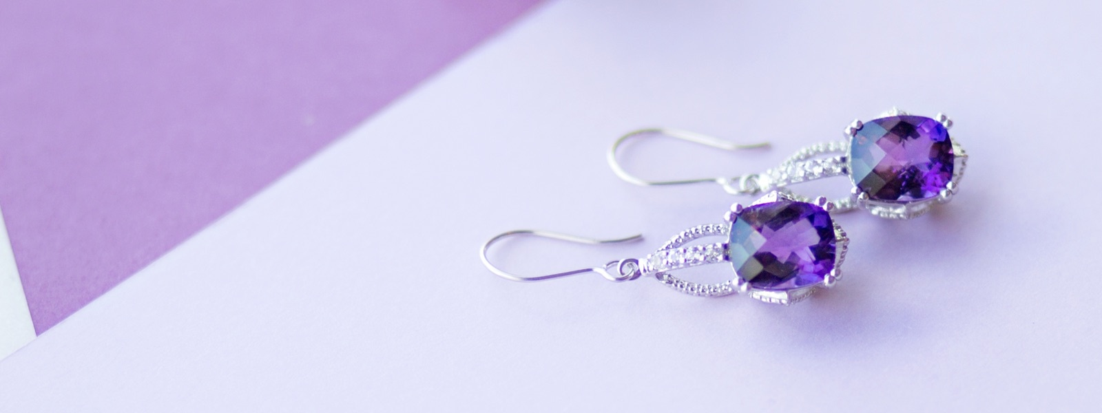 Color Gemstone Jewelry in Silver