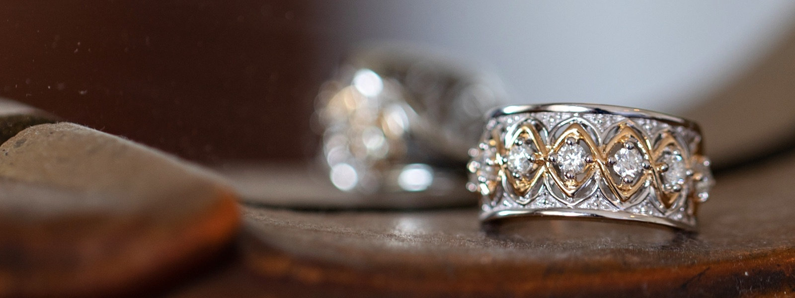 Moissanite Fire Ring