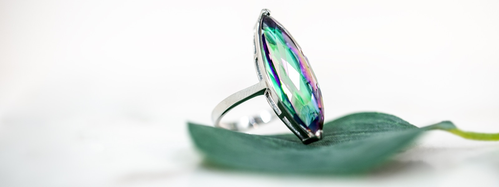 Color Silver Ring