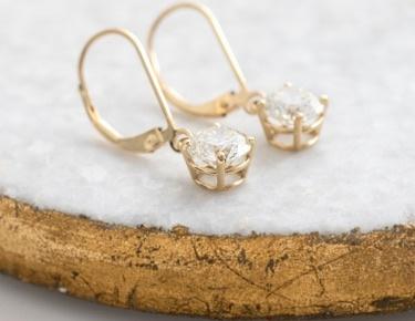 Lab Grown Diamond Earrings