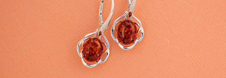 Color Silver Earrings