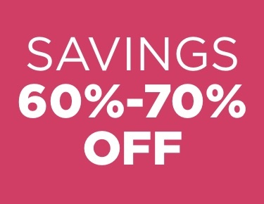 Items 60%-70% off