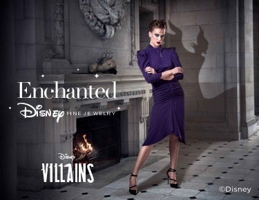 Disney Enchanted Fine Jewelry Villains