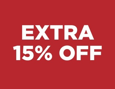 Extra 15% off Clearance, price as marked