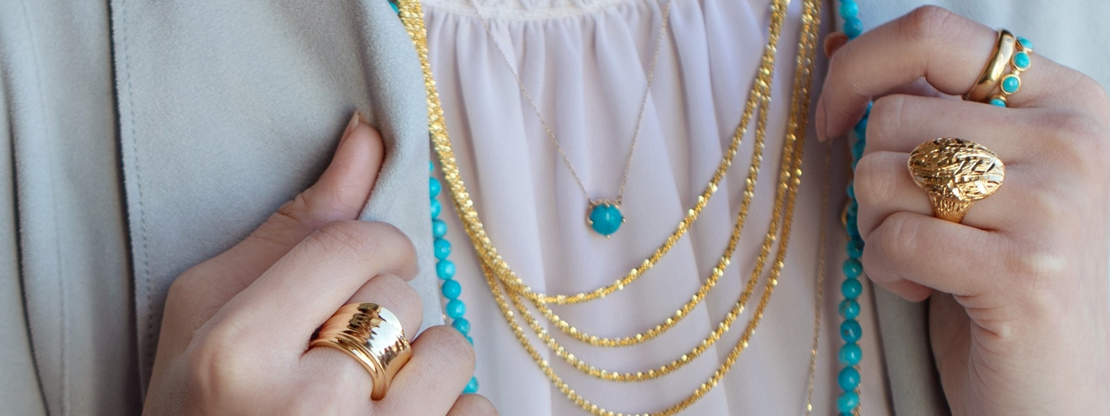 Spring Trend - Layering Necklaces