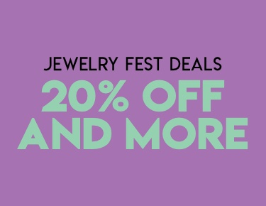 20% off and more on Jewelry Fest Deals