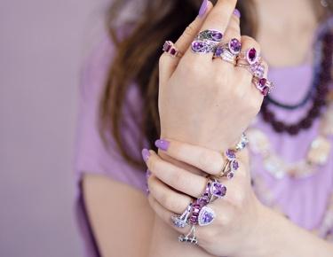 Purple Gemstones Blog