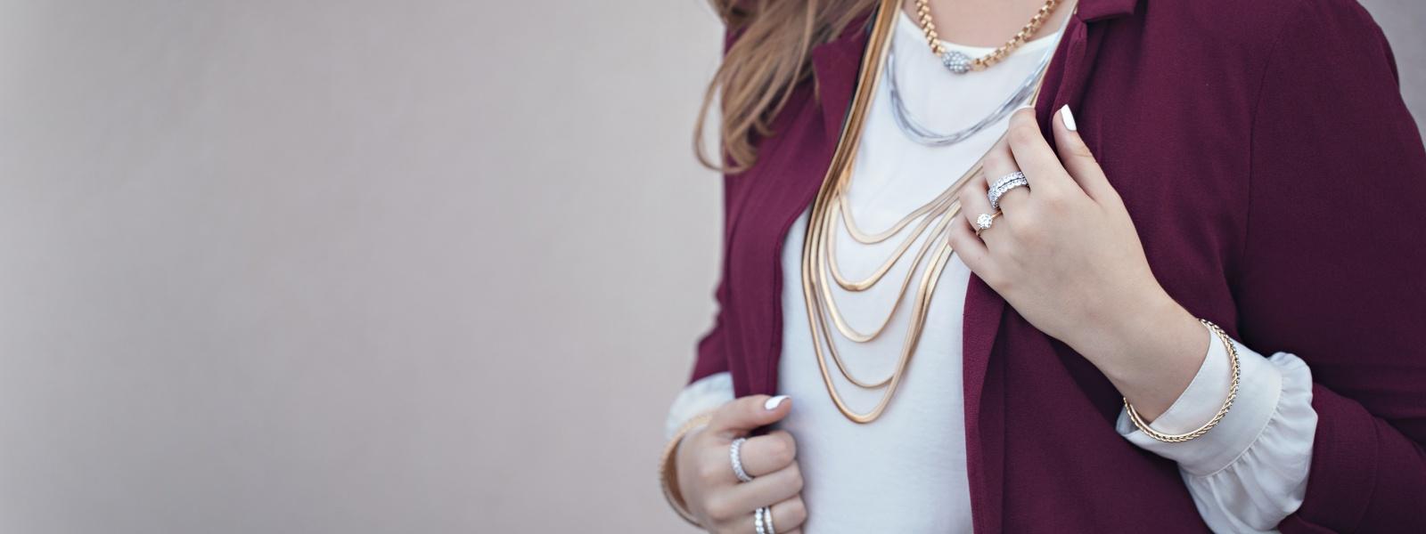 Bold basic jewelry