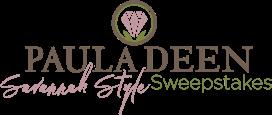 Paula Deen Savannah Style Sweepstakes