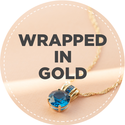 Wrapped in gold jewelry