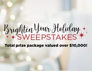 Brighten Your Holiday Sweepstakes