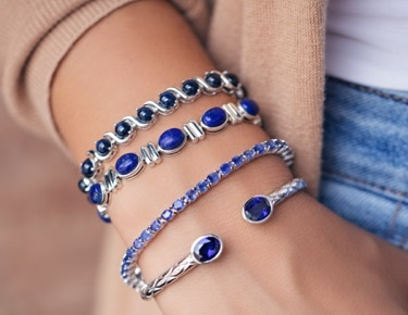 Color of the year blue jewelry