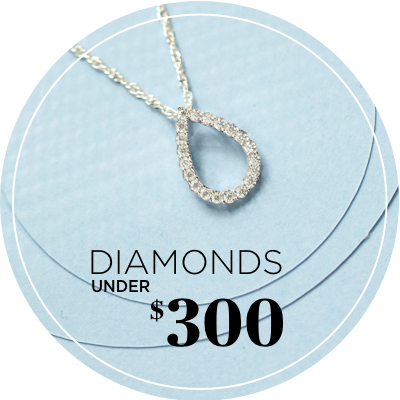 Diamonds Under $300