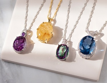 Gem encrusted jewelry