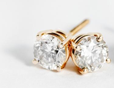 Lab-Grown Diamond Studs
