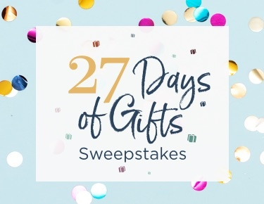 27 Days of Gifts Sweepstakes