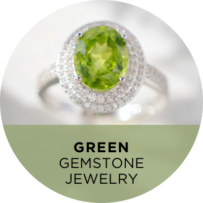 Green Gemstone Jewelry