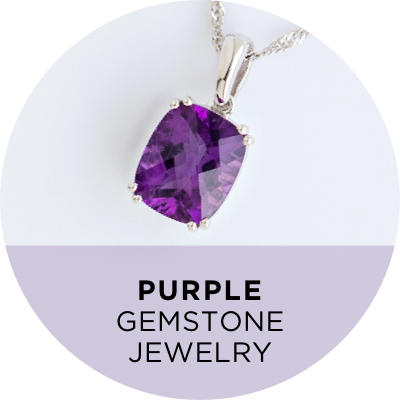 Purple Gemstone Jewelry