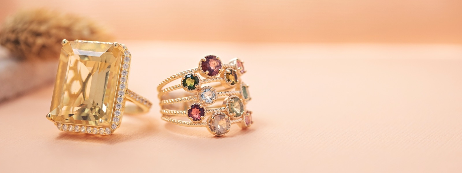 Fall trend bold rings