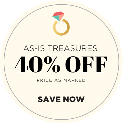 As-Is Treasures - 40% Off - Priced As Marked - Save Now