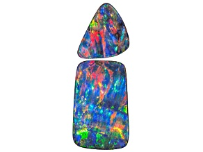 Boulder Opal Mixed Shape Cabochon Set 29.73ctw