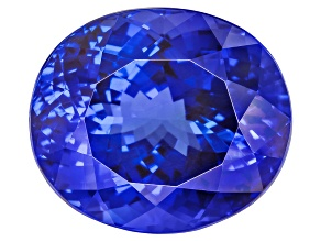 Tanzanite 18.60x15.94x12.68mm Oval 28.12ct